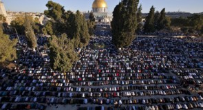 من خطبة الجمعة الثالثة في المسجد الأقصى برمضان